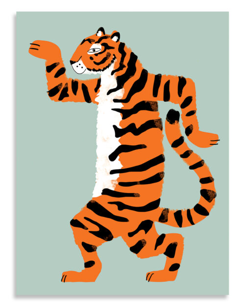 Affiche aristide le tigre