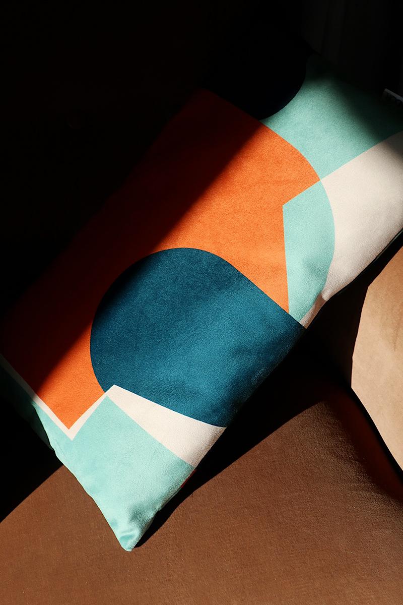 Shandor coussin Dunes, formes géométriques, Made in France
